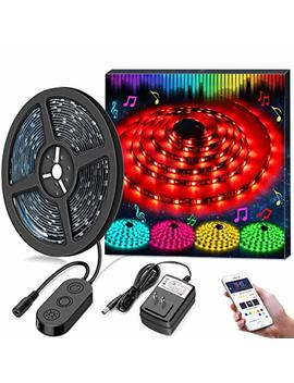 Led Strip Lights Led Tape Lights Sync To Music By App Control, Minger 16.4 Ft/5 M Led Light Strip Waterproof Flexible 5050 Rgb Rope Light, 12 V Strip Lighting For Bedroom Holiday Party, Dc Ul Listed by Minger