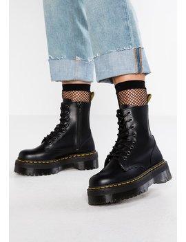 Jadon Zip   Platform Boots by Dr. Martens