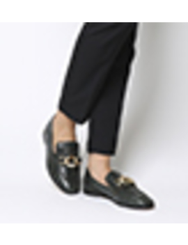 Florentine Square Toe Chain Loafers by Office