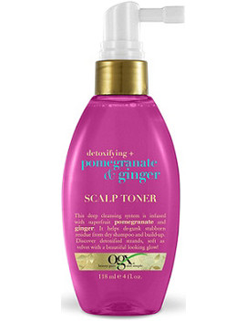 Detoxifying + Pomegranate & Ginger Scalp Toner by Ogx