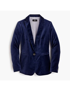 Tall Parke Blazer In Velvet by J.Crew