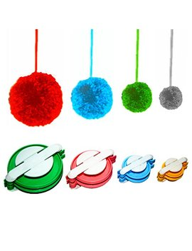 Stark Pompom Pom Pom Maker For Fluff Ball Weaver Needle Craft Diy Wool Knitting Tool Set Decoration 4 Sizes by Stark Star