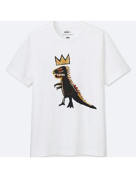 Men Sprz Ny  Short Sleeve Graphic T Shirt (Jean Michel Basquiat) by Uniqlo