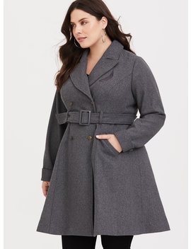 Fantastic Beasts The Crimes Of Grindelwald Grey Mid Length Coat by Torrid