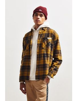 Uo Warm Handle Plaid Shirt by Urban Outfitters