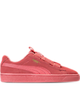 Girls' Grade School Puma Suede Maze Casual Shoes by Puma