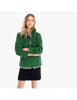 Sherpa Half Zip Pullover by J.Crew