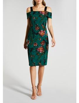 Soon Floral Bardot Shift Dress by Matalan