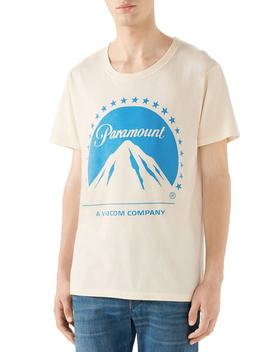 Paramount Logo T Shirt by Gucci