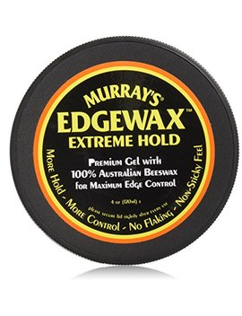 Murray's Edgewax Extreme Hold 100 Percents Australian Beeswax Edge Control 4oz by Murray's