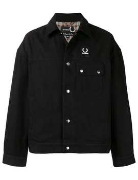 Raf Simons X Fred Perryoversized Denim Jackethome Men Raf Simons X Fred Perry Clothing Denim Jackets by Raf Simons X Fred Perry