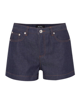 High Standard Denim Shorts by A.P.C. Atelier De Production Et De Création