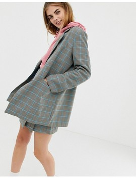 Collusion Check Blazer by Collusion