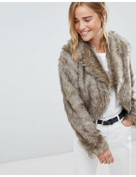 Urban Bliss Francesca Fur Jacket by Urban Bliss