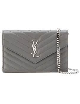 Saint Laurent Monogram Envelope Chain Wallethome Women Saint Laurent Bags Mini Bags by Saint Laurent