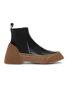 Black Lela Vulcanized Chelsea Boots by 3.1 Phillip Lim