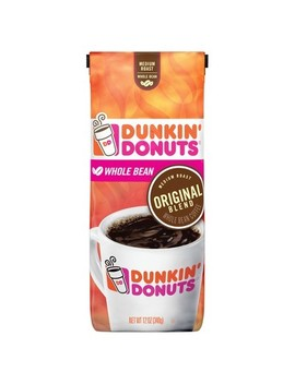 Dunkin' Donuts Original Blend Medium Roast Whole Bean Coffee   12oz by Dunkin' Donuts