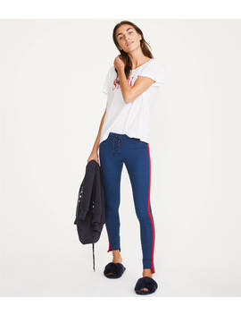 Sundry Step Hem Skinny Sweatpants by Lou & Grey