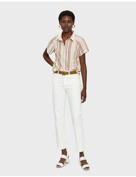 Alouette Striped Shirt by Farrow