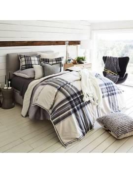 Tarni Plaid Reversible Comforter Set by Ugg