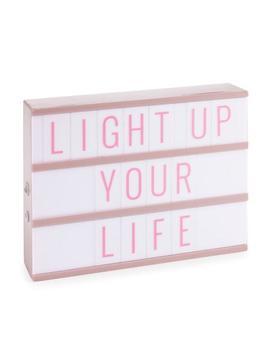 Personal Led Lightbox Personal Led Lightbox by Merkury Innovations Merkury Innovations