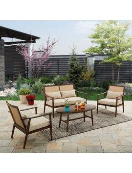 Better Homes And Gardens Vaughn 4 Piece Outdoor Conversation Set by Better Homes & Gardens