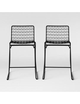 Set Of 2 Oster Wire Counter Stool   Project 62™ by Shop This Collection