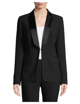 Lorelei One Button Tuxedo Jacket by Elie Tahari