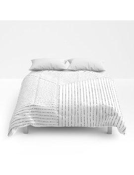 Lines Art Comforters by
