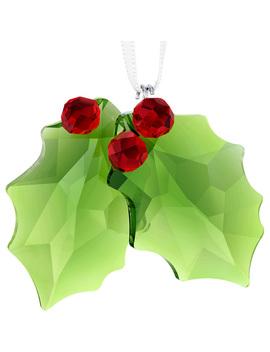 Holly Ornament by Swarovski