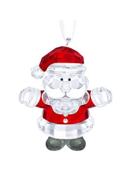Santa Claus Ornament by Swarovski