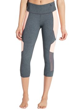 Calia By Carrie Underwood Women's Essential Heather Jacquard Capris by Calia By Carrie Underwood