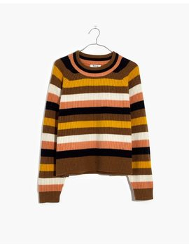 Striped Tilden Pullover Sweater by Madewell