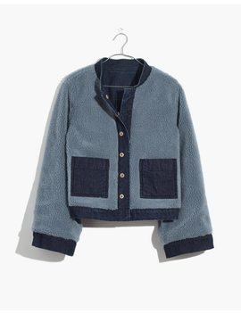 Reversible Sherpa Jean Jacket by Madewell