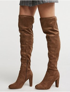 Over The Knee Boots by Charlotte Russe