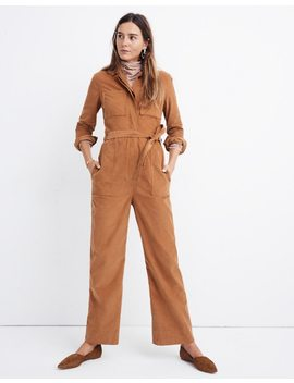 Corduroy Belted Jumpsuit by Madewell