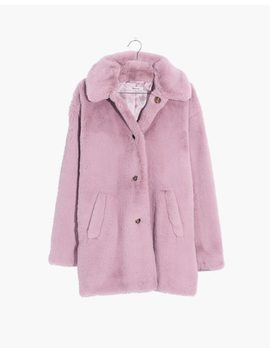 Faux Fur Coat by Madewell