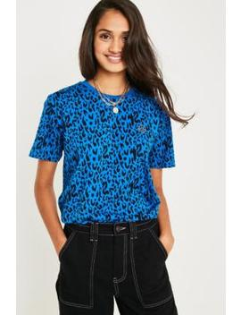 Iets Frans... Leopard Print Short Sleeve T Shirt by Iets Frans...