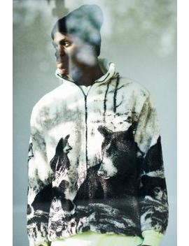 "Black Mountain Apparel – Fleecejacke ""Black Bears"" In Off White by Black Mountain Apparel Shoppen"