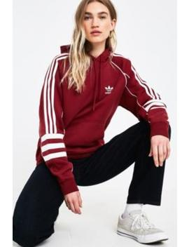 Adidas Originals Authentic Maroon Hoodie by Adidas Originals