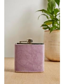 Velvet Lilac Hip Flask by Urban Outfitters