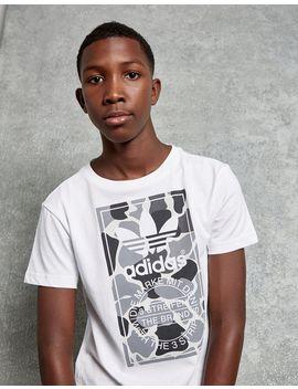 Adidas Originals Camo Box T Shirt Junior by Adidas Originals