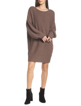 Day By Day Oversize Sweater Dress by Caara
