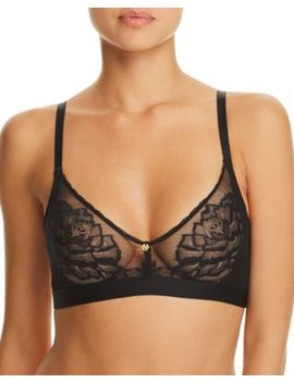Flora Triangle Wireless Lace Bralette by Natori