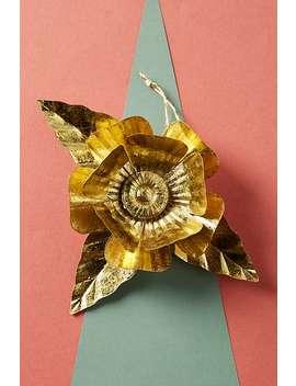 Papetal Holiday Flower Ornament by Papetal By Jennifer Tran