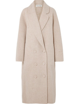 Oversized Wool Blend Coat by Mansur Gavriel
