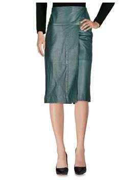 Malloni 3/4 Length Skirt   Skirts by Malloni