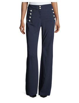 Adley Button Detail Pants by Neiman Marcus