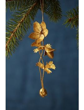 Golden Anemone Ornament by Anthropologie