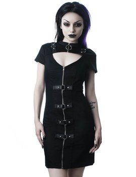 Casey Bodycon Dress [B] by Killstar